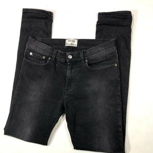 Acne Studios Thin Carbon Made In Italy Mens Jeans